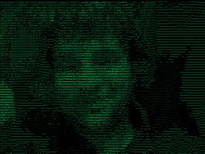 mit der ASCII-Brille die Welt erleben.