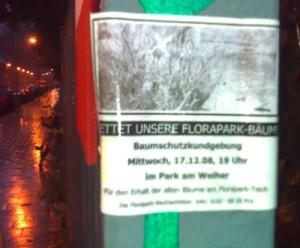 Florapark schützen & erhalten!