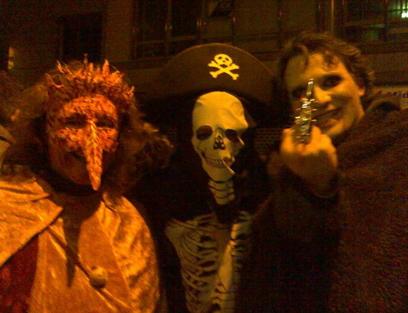 das Karneval-Guerilla-Konzept 2009