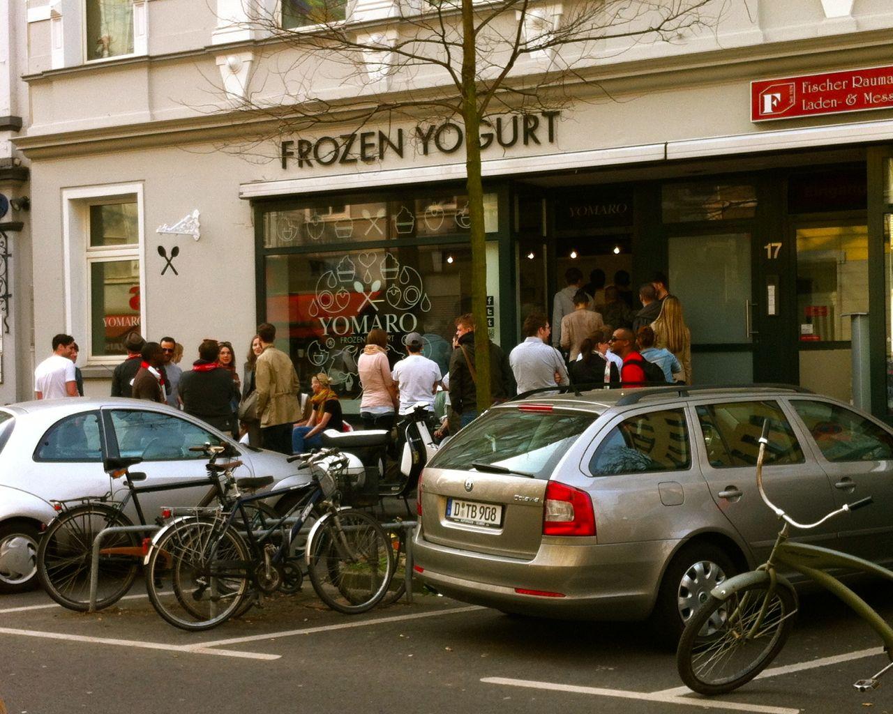 Neuer Eisdealer in Unterbilk (Lorettostraße)