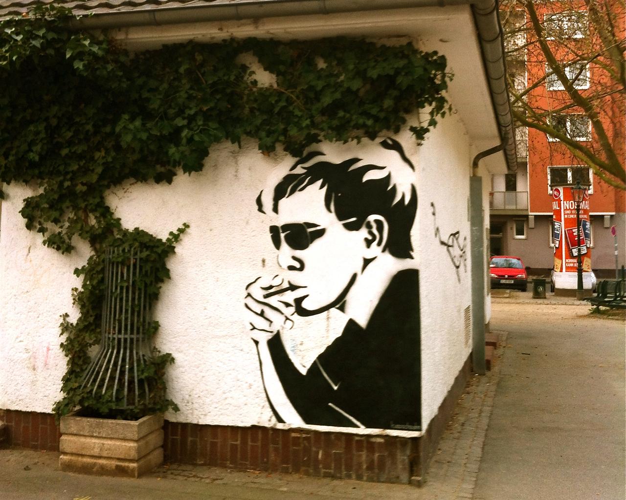 Streetart auf'm Friedensplätzchen