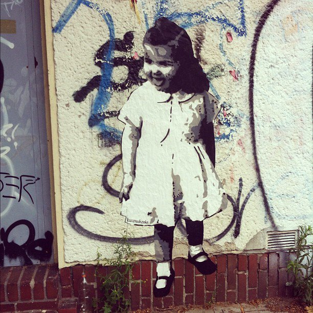Streetart – die Szene in Düsseldorf (k)lebt ;-)
