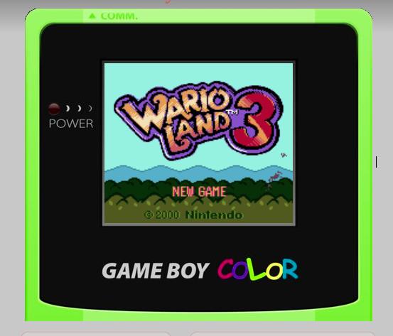 GameBoy Color Emulator – über 100 Klassiker online zocken.