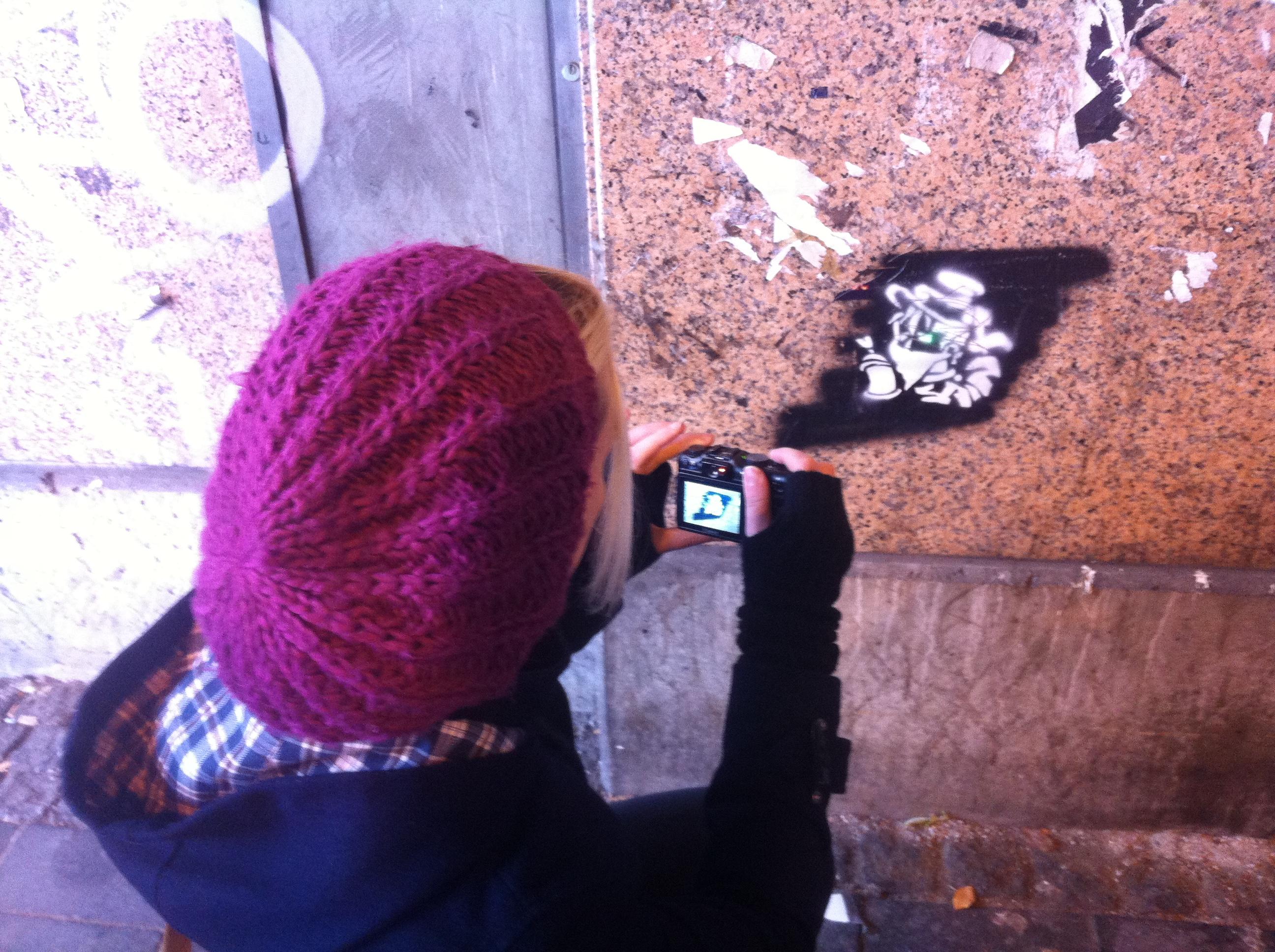 Streetart Tour durch Bilk