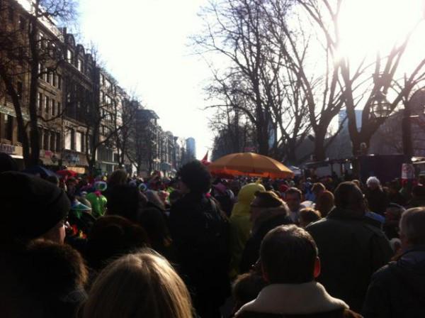 karneval auf der kö