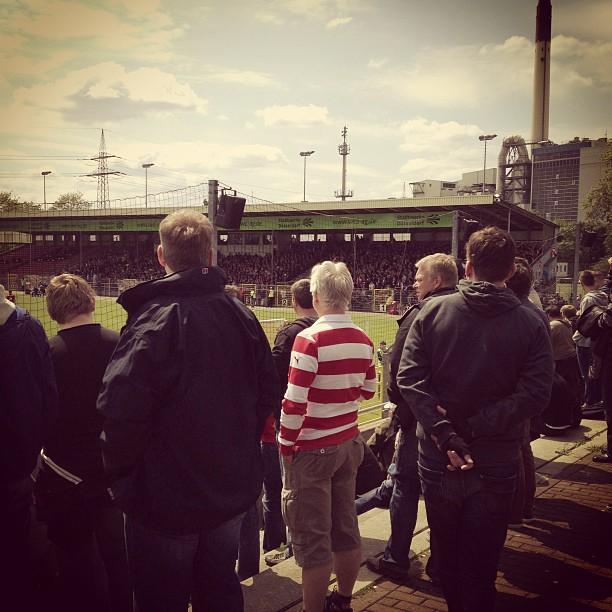 Ehrlichen Fußball sehen :-) #fortuna2 spielt im Paul-Janes-Stadion gegen den Abstieg.