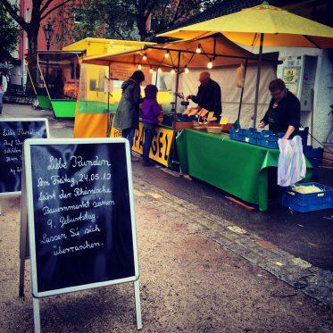 9 Jahre Rheinischer Bauernmarkt auf dem Friedensplätzchen