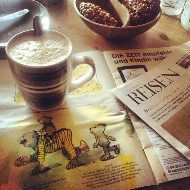 Guter Fund bei der Morgenlektüre - Janosch um ZEITMagazin :-)