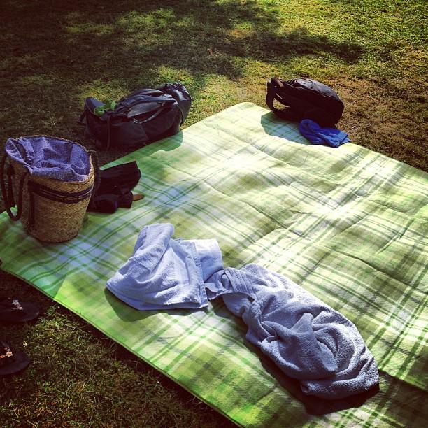 Schattenplatz mit angeschlossener Liegefläche :-) #summer in #dtown