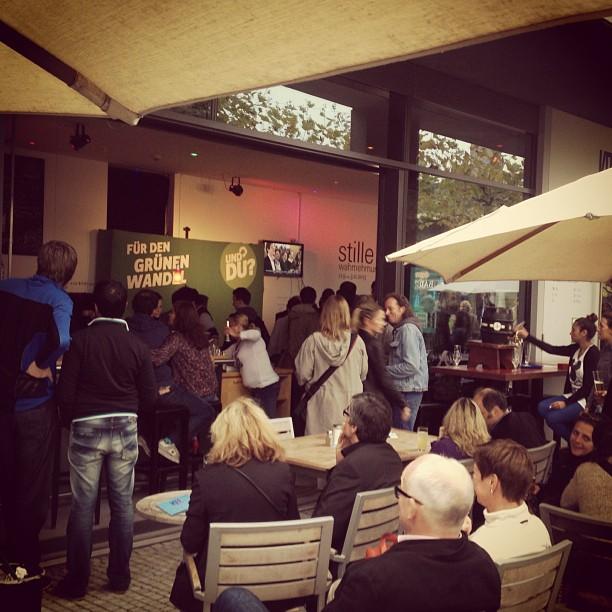 Wahlabend bei den GRÜNEN NRW im KIT