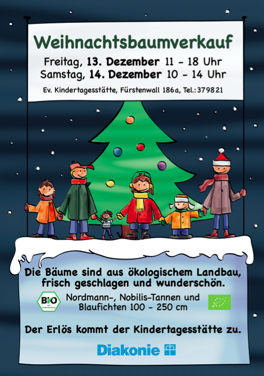 Der Weihnachtsbaum-Dealer des Vertrauens