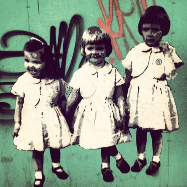 Le Trio infernal ;-) Pasteup in unseren Straßen…
