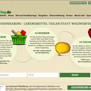foodsharing – Lebensmittelretter Düsseldorf
