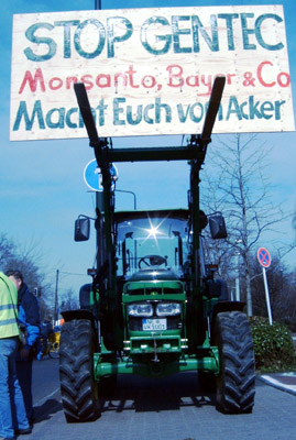 March Against Monsanto – Global denken, lokal handeln.