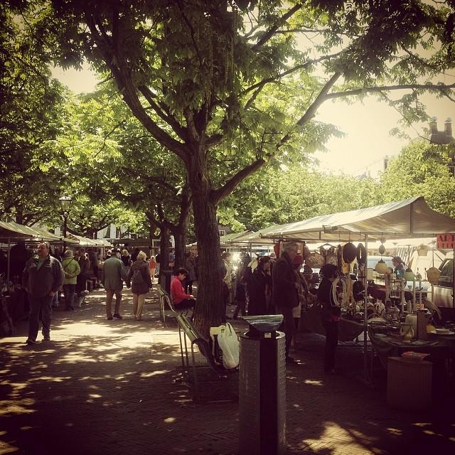 Flohmärkte sind in Amsterdam zum Glück nicht wirklich exotisch :-)
