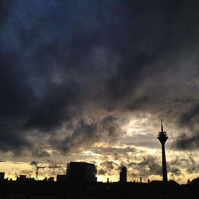 … und auf Regen folgt -eventuell-auch wieder Sonnenschein.