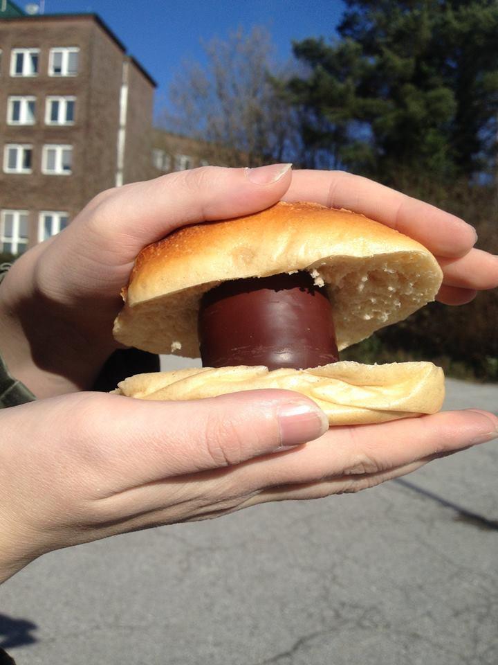 Fortuna-Brötchen statt Currywurst für Tobi Levels