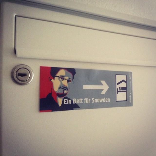 Eine Notschlafstelle für #whistleblower ;-) #Snowden is welcome.
