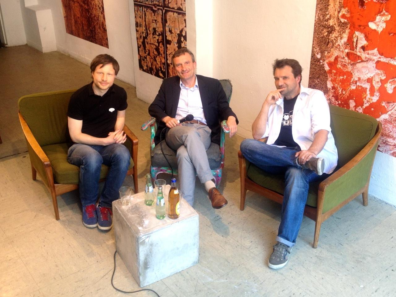 Auf ein Wort, Herr Geisel. Interview mit dem OB Kandidaten über Kulturpolitik