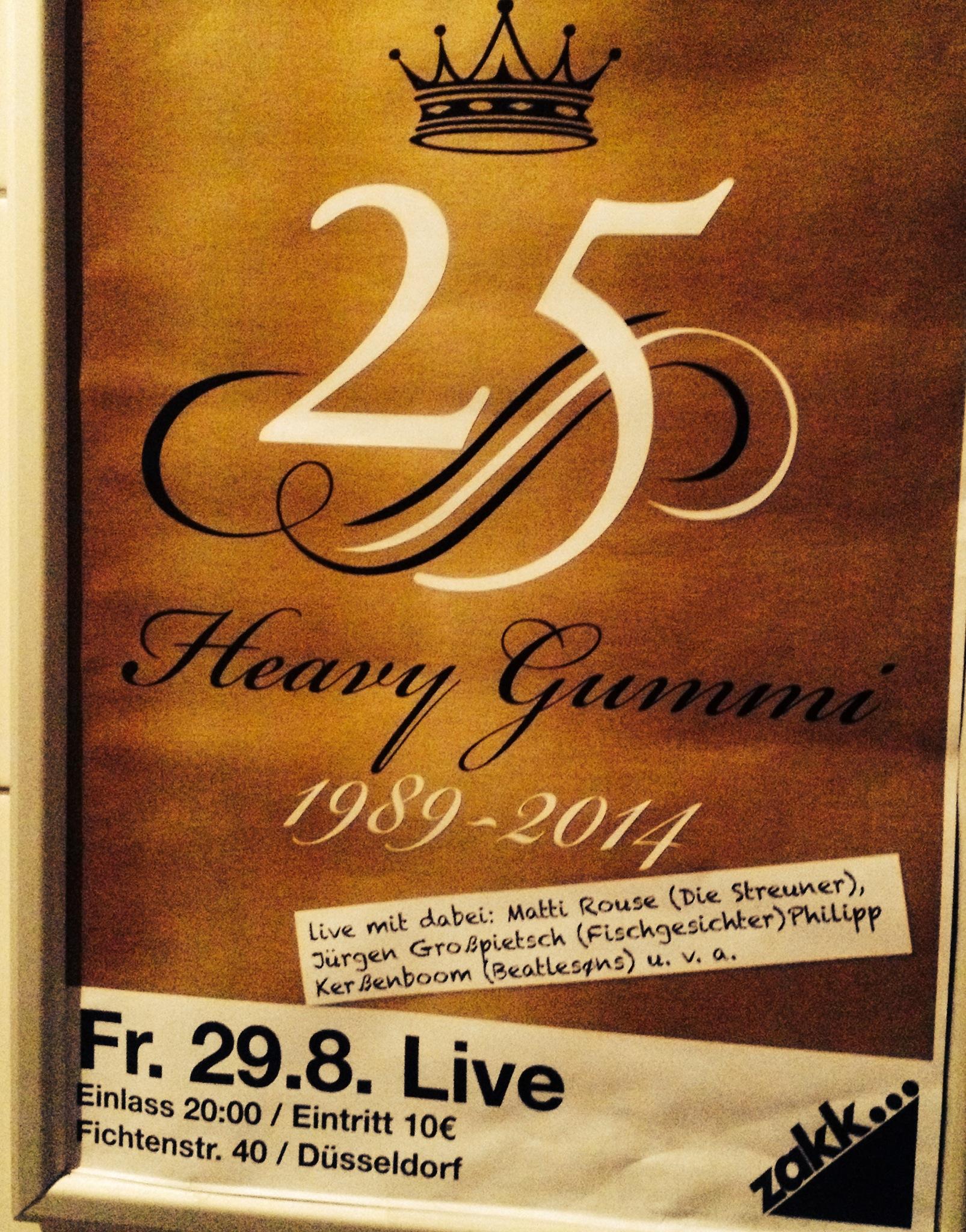 25 Jahre Heavy Gummi – 25 Jahre Polka, SKA und Spaß