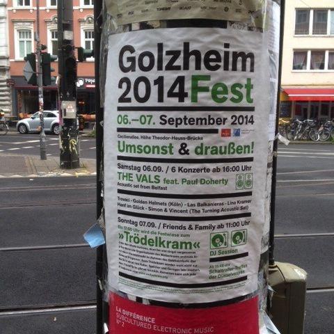 Kein Golzheim Festival in diesem Jahr