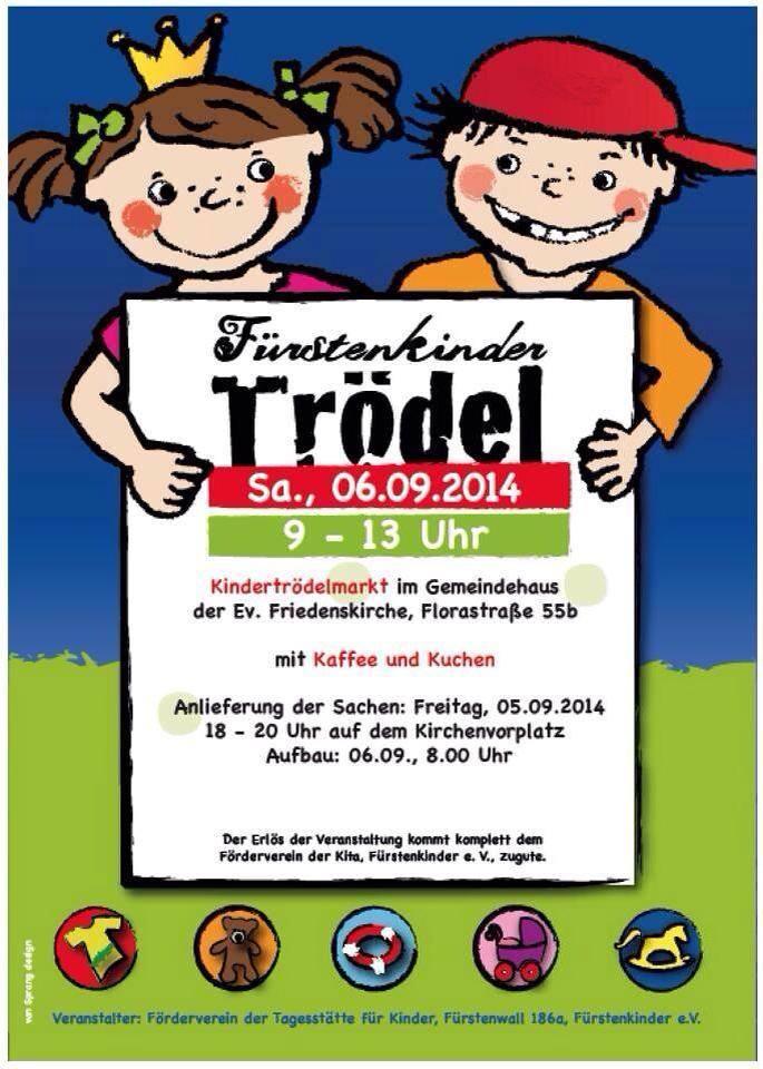 Trödelmarkt der Fürstenkinder am 6. September