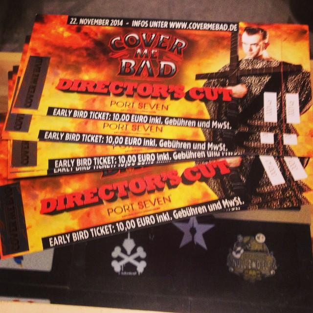 """Die Tickets für's """"Cover me Bad Festival"""" sind schon mal im Sack :-)"""