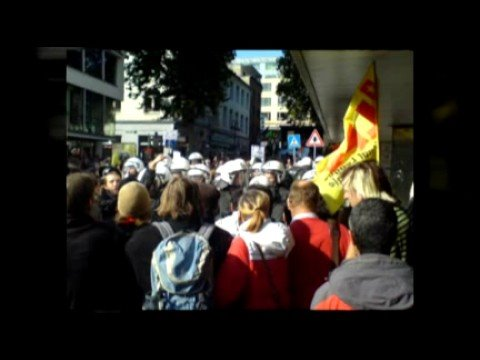 Rassisten in Köln erfolgreich blockiert.
