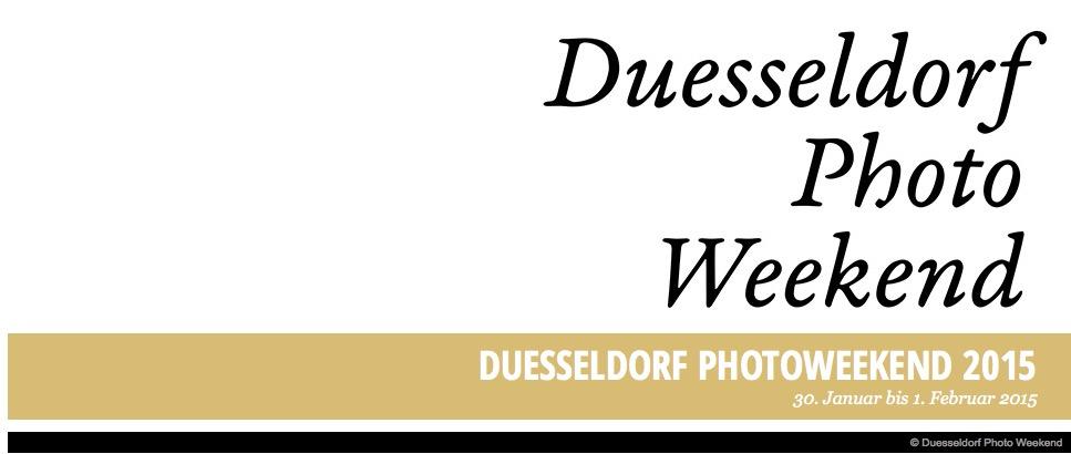 Düsseldorf, die Stadt der künstlerischen Fotografie.