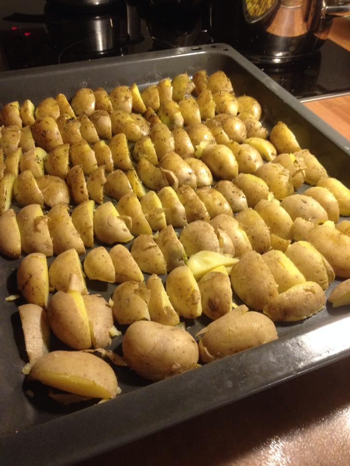 Das schrubben der Kartoffeln hat sich echt gelohnt…