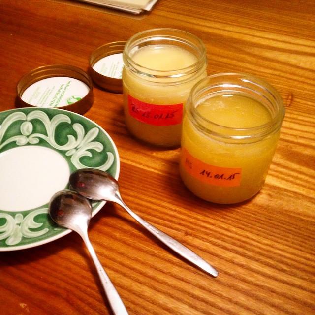 Leckeren Honig direkt beim Imker verkosten – eine Geschmacksexplosion :-)