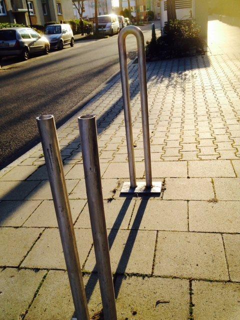 Dreiste Fahrraddiebe in Bilk.
