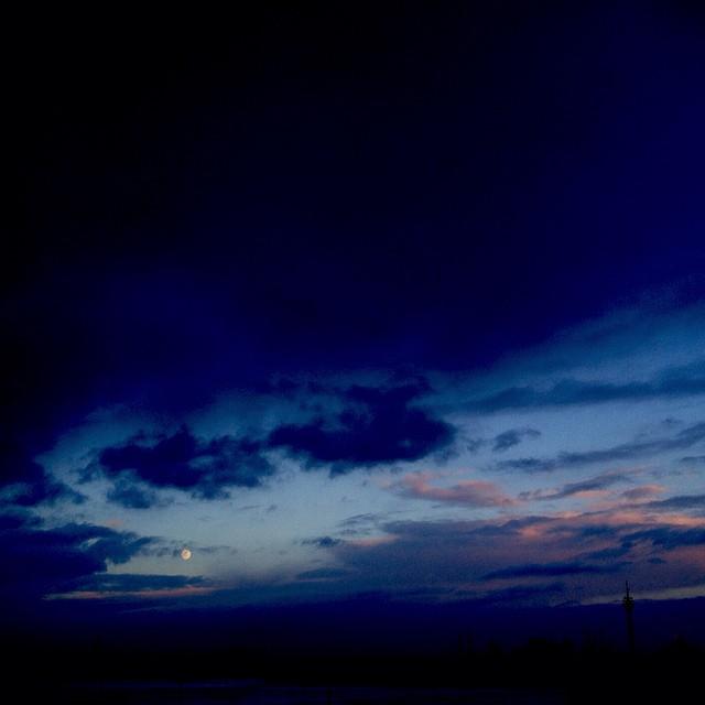 Oh toll, eine Lücke in den Wolken :-)