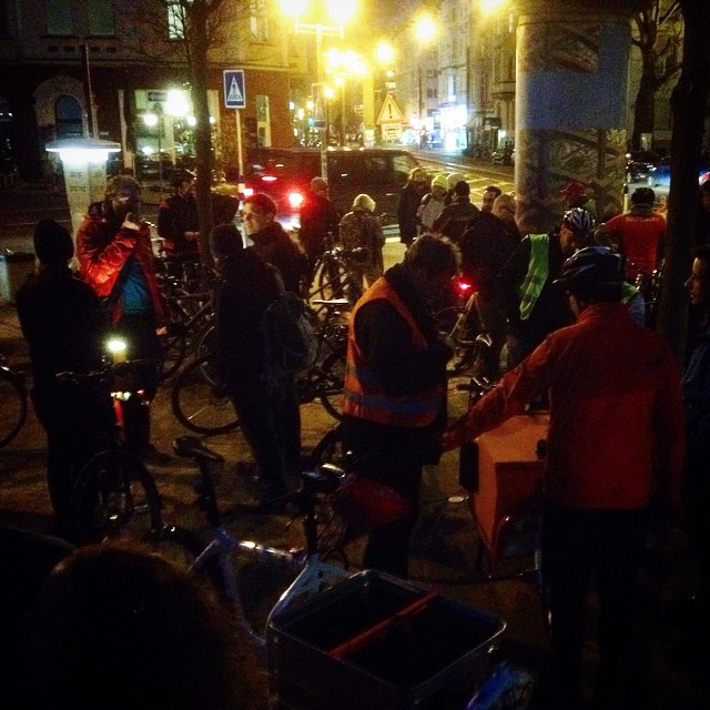 Endlich ist mal wider Zeit für eine ordentliche Critical Mass in der Stadt :-)