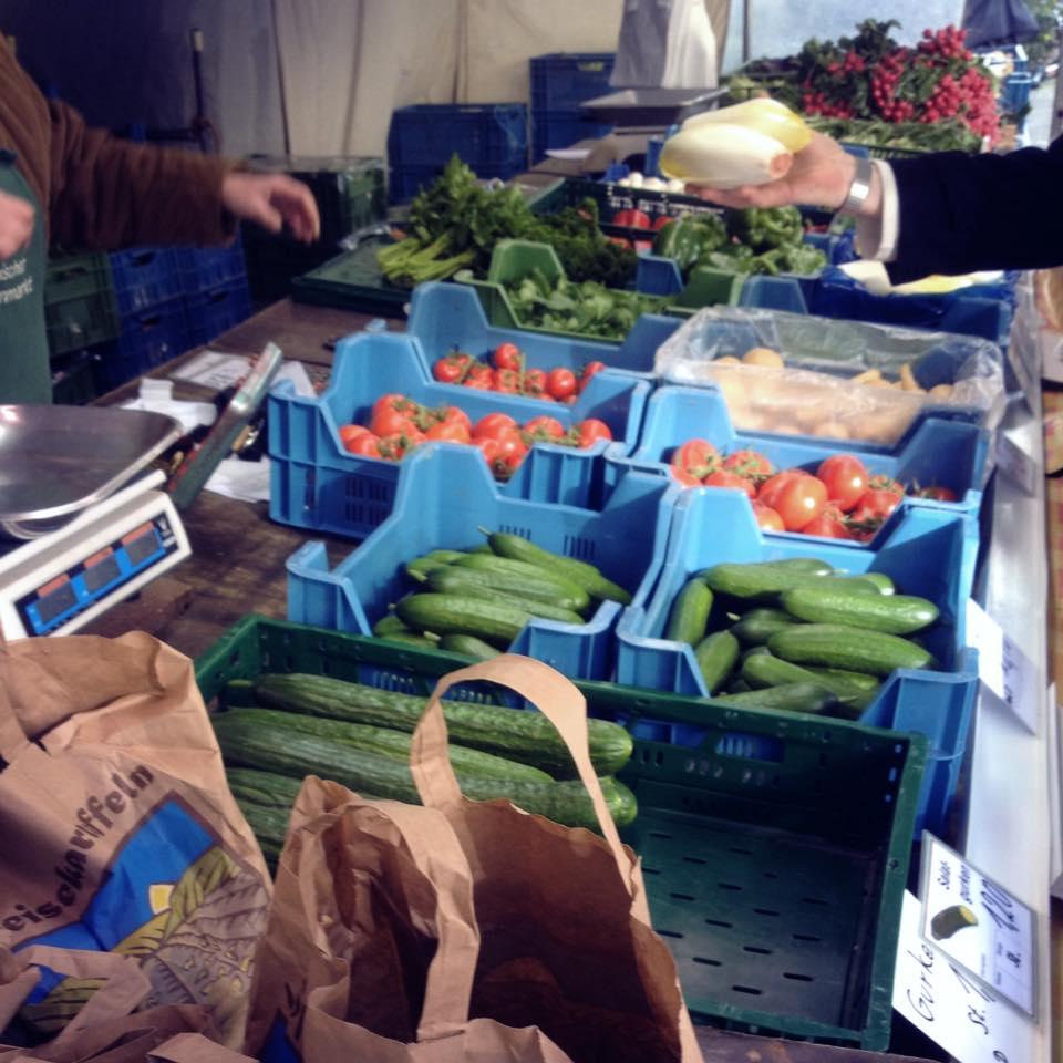 Neue Ernte auf'm Bauernmarkt
