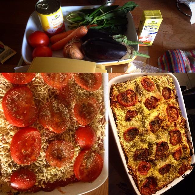 Küchen Intermezzo - die Geschichte dieser GemüseLasagne ist schnell erzählt: köstlich-lecker & direkt komplett aufgegessen ;-)