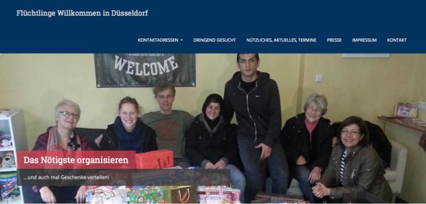 Refugees welcome to Düsseldorf!