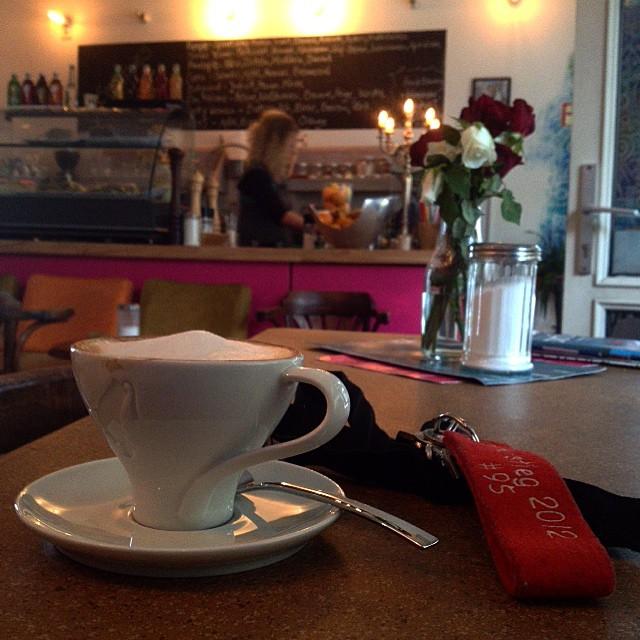 Mit ner Kaffeepause den Tag beschließen – toll :-)