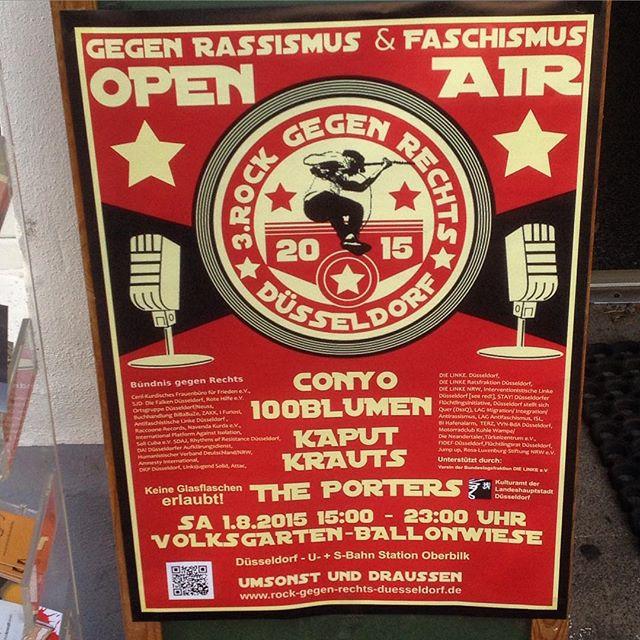 """Rock gegen Rechts 2015"" – Nazis einfach wegbassen ;-)"