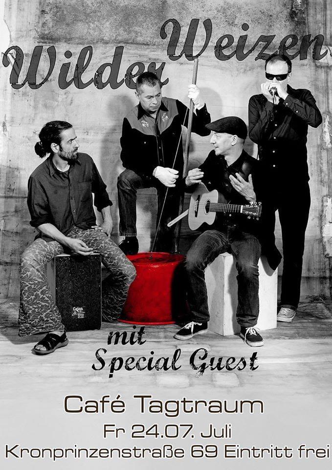 """""""Wilder Weizen"""" im Cafe Tagtraum"""