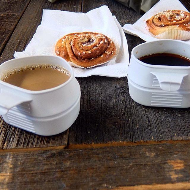 Ein schnelles, leckeres Frühstück noch - und dann geht es ab auf den Track :-) wir hören wieder von einander in 4 bis 5 Tagen... #fjallravenclassic