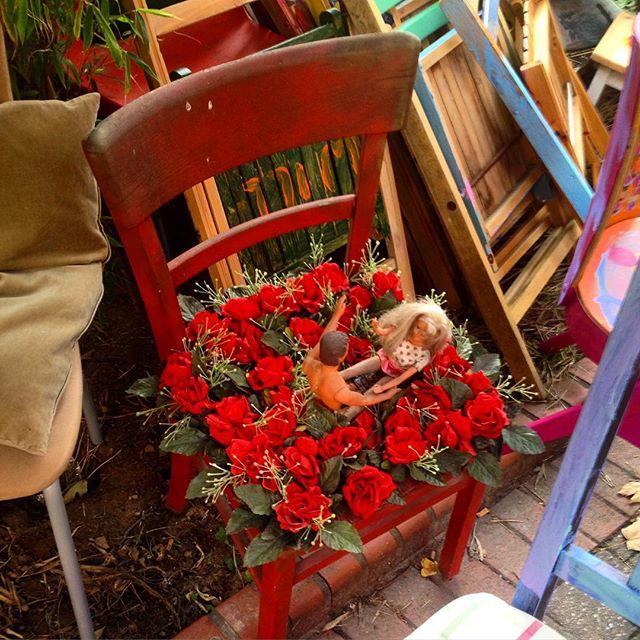 Wer von euch noch einen schön gestalteten und ganz individuellen Stuhl gebrauchen kann - der kann gegen Spende einen bei dem Büdchen auf der Linienstrasse erwerben :-) Es sind einige übrig geblieben da leider nicht alle Stühle in die Bäume gehängt werden durften... es scheint aber auch zum letzten Male eine Genehmigung für eine Kunstauktion erteilt worden zu sein - wir fragen da aber noch mal nach...