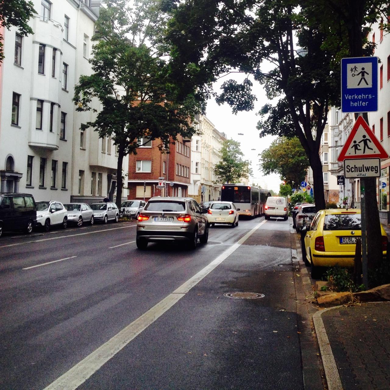 VerkehrshelferInnen für die Konkordiastraße gesucht