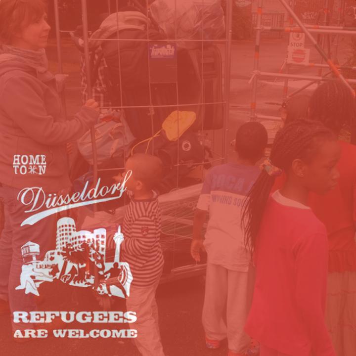 Welcome to Düsseldorf – Flüchtlingen helfen