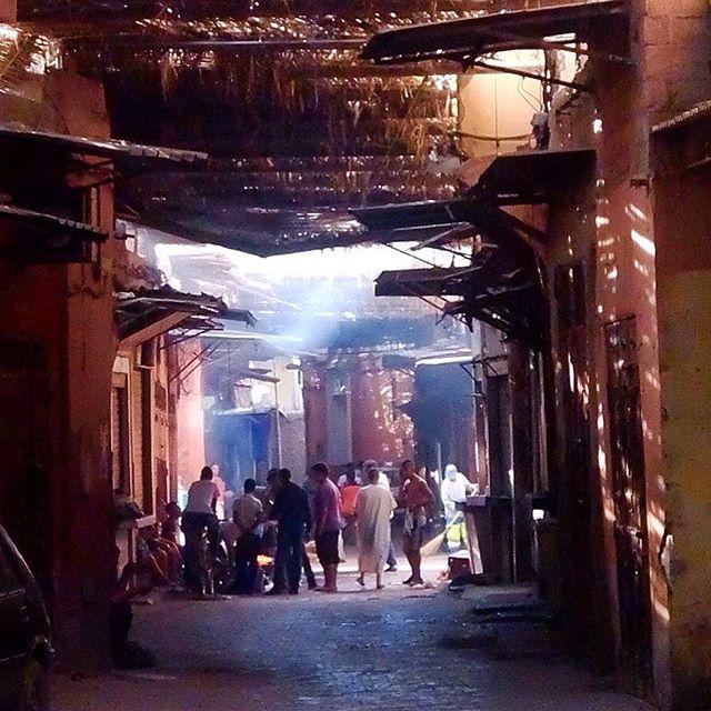 Gelassen durch die Gassen in Marrakesh strolchen