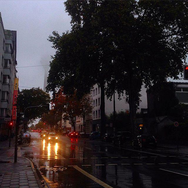 Okay, wir haben wieder 'Wetter' am frühen Morgen.