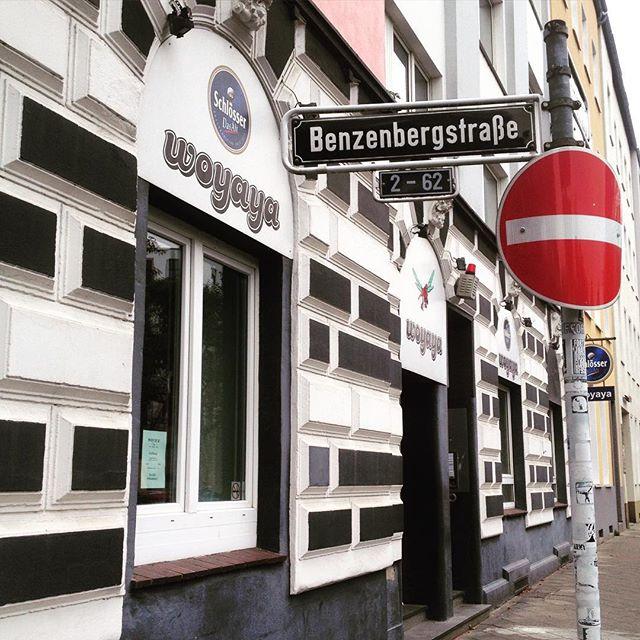 Schon schade wenn solche Kneipen (Institutionen) wie das Woyaya aus einem Wohnviertel wegziehen... mal schauen was nun in die Räume an der Benzenbergstraße einzieht.