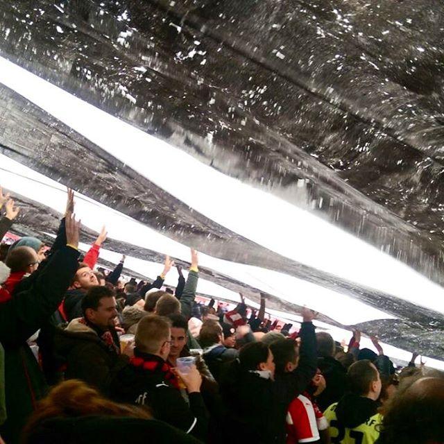 Partystimmung im Stadion :-)