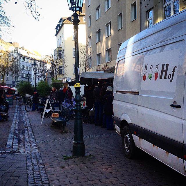 Erster Markttag im neuen Jahr auf dem Friedensplätzchen :-)