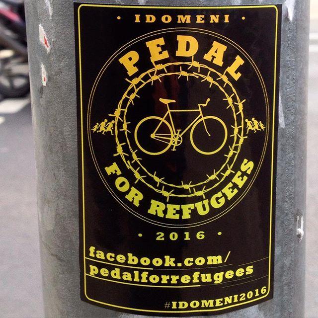 Radeln für einen guten Zweck :-) Refugees welcome!
